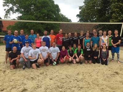 Beachvolleyballsaison 2018 gestartet