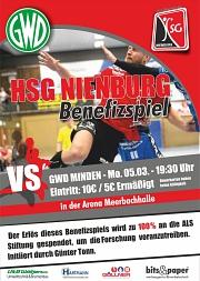 Benefizspiel HSG Nienburg gegen GWD Minden