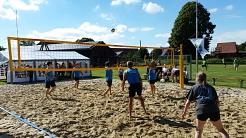 """Bestes Wetter zum """"beachen""""©SJB Binnen"""
