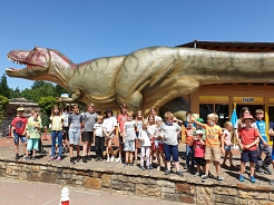 Besuch im Dinopark©SJB Binnen