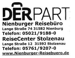 DERPART Nienburger Reisebüro©SJB Binnen