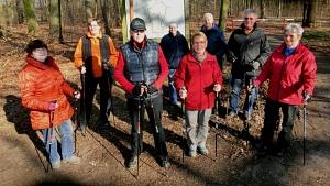 Gesundheitssport Nordic Walking