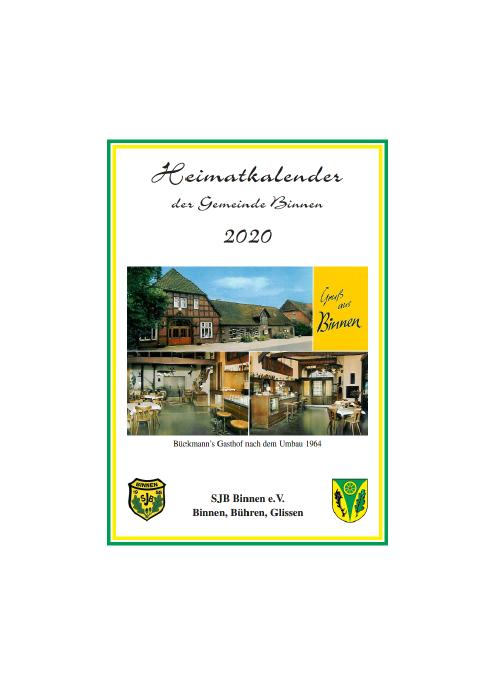 Heimatkalender 2020©SJB Binnen