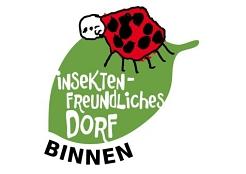 Insektenfreundliches Dorf Binnen LOGO©SJB Binnen