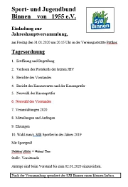 JHV 2020