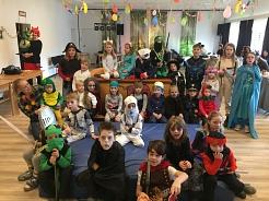 Kinderfasching 2020 in Bühren©SJB Binnen