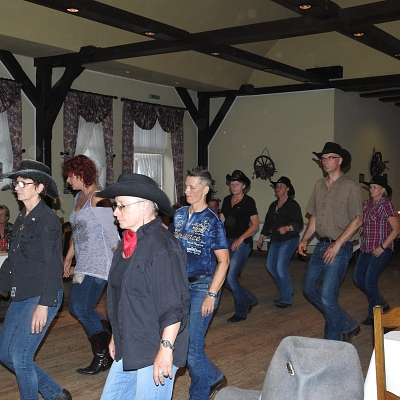 Linedance-Party 2017 im Gasthaus Conrades in Leese