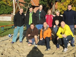 Socks on the beach 2012 © SJB Binnen