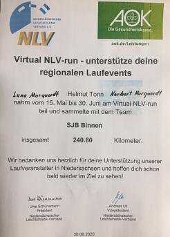 Virtuell Run 2020©SJB Binnen