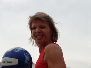 Übungsleiterin Claudia Eckhardt