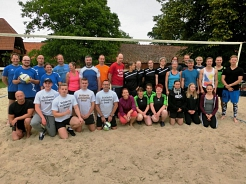 Volleyballteams © SJB Binnen