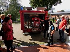 Vorstellung der Feuerwehr mit Christian Beyer©SJB Binnen