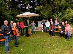 Vortag über Heigeln und Nordicwalking mit Jorunn Wissmann©SJB Binnen