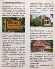 Wandertag in Glissen
